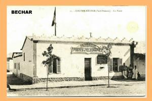 مركز بريد مدينة بشار في الفترة الإستعمارية