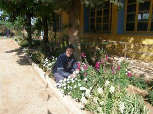 حديقة المدرسة الإبتدائية سيدي عبد القادر بمدينة عين الحديد