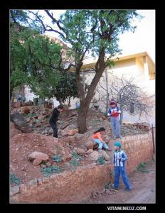 أطفال من بلدية بني سنوس