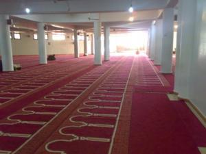 Intérieur de la Mosquée El Maqari dans la commune de Magra