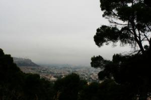 منظر علوي لمدينة