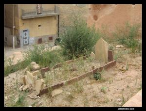 المقبرة القديمة لحي القصبة بمدينة ندرومة