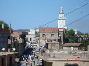 السوق المحلي لمدينة أولاد عيسى