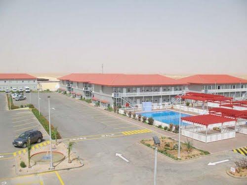 Base de vie à Hassi Messaoud