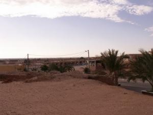 Entrée de la ville d'El Hadjira