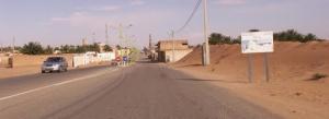 Entrée d'El Alia (Commune d'El Hadjira)