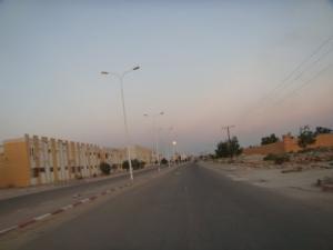 Entrée Ouest de la ville de Touggourt (Wilaya de Ouargla)