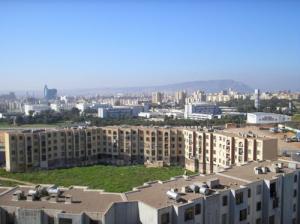 Vue sur l'Université d'Oran