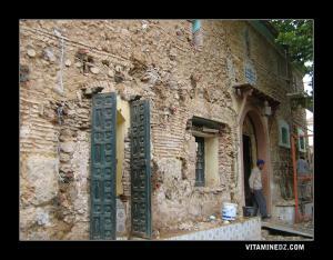 La Mosquée de Sidi Ahmed Benyoucef à Miliana en rénovation (partie Darih)