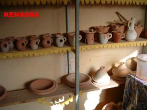إنجازات خزفية بمدينة بشار