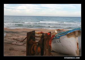 الصيد البحري بشاطئ الرأس الأبيض