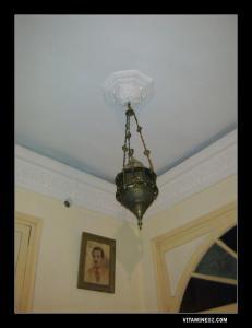 ثريا قديمة من العصر العثماني بأحد منازل تلمسان