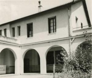 صورة قديمة لمدرسة بسباس (الفترة الإستعمارية) 1