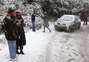 مدينة البليدة تحت الثلوج