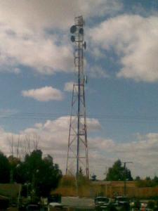 Une Tour de télécommunication à Bougtob