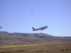 Décollage de l'Aéroport d'El Bayadh