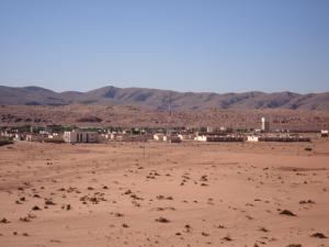 Vue de la commune de Boussemghoun