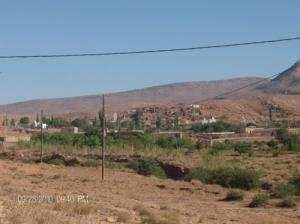 Vue sur la ville de Petite Mechria (Wilaya d'El Bayadh)