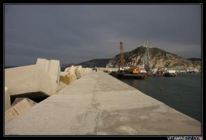 منظر من ميناء الصيد بساحل الغزوات