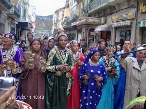 فرقة 'عيساوة' تزور الجزائر العاصمة بمناسبة المولد النبوي