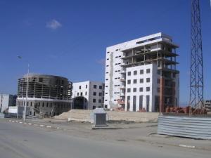 Nouveau Siège de la wilaya en chantier