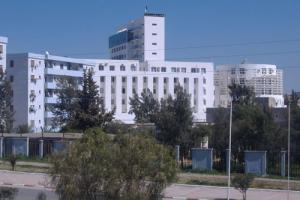Vue sur le siège de la wilaya de Bordj Bou Arreridj