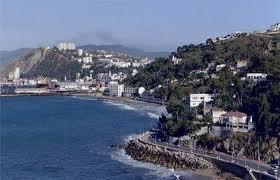 منظر ساحلي لمدينة سكيكدة