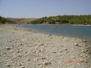 Vue sur le Barrage Ain-Zada
