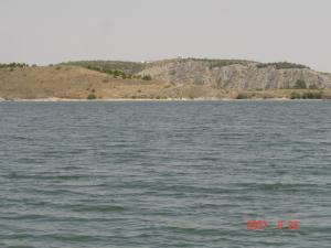 Les Eaux du barrage de Ain-Zada