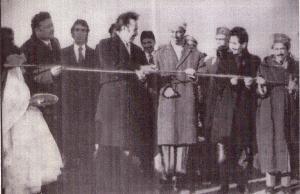 افتتاح القرية الفلاحية معمورة في عهد الرئيس هواري بومدين