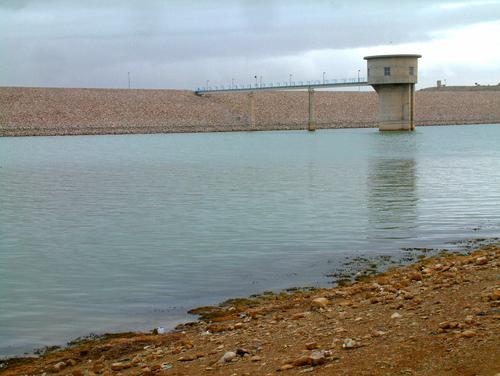 Barrage Ain Zada_La Tour