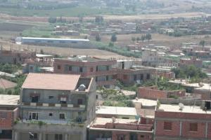 Vue sur la ville de Ouled Moussa