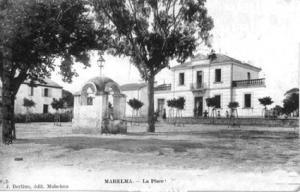 صورة من بلدية مهالمة في الفترة الإستعمارية