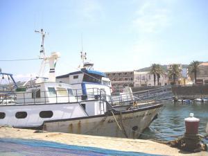 Bateaux de pêche au Port d'El Kala