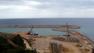 Nouveau port d'el-Kala aprés plusieurs années de Travaux