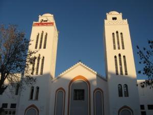 Les minarets de la Mosquée Billal Ibn Rabah