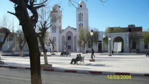 Vue sur la Mosquée Billal Ibn Rabeh