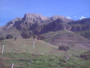 Les montagnes de Boucaid