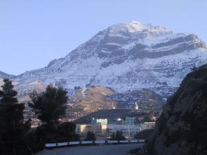 Le Mont Ouarsenis sous la neige