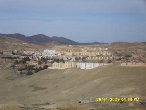 Vue sur la ville de Theniet El Had