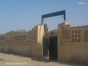 Entrée d'une école Primaire à El Oued