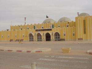 Entrée e l'Aéroport de Guemar