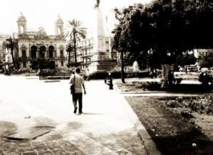 صورة من وسط مدينة وهران