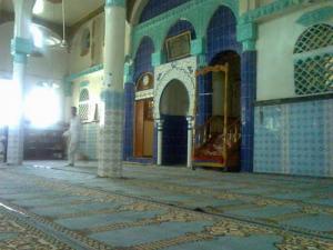 Intérieure d'une Mosquée de Merahna