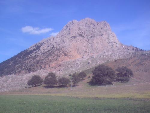 Vue sur la Montagne de Boucaid