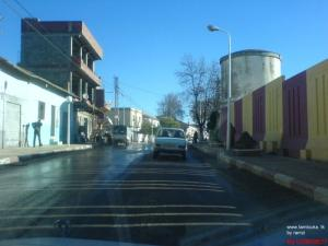 Un Boulevard de la ville de M'daourouch