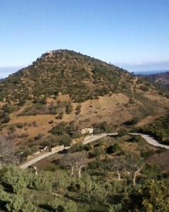 Le Marabout (MOULA Abdelkader) sur le sommet de la créte à Aghbal Tipaza