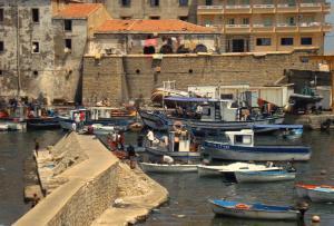 الميناء القديم لبلدية القالة