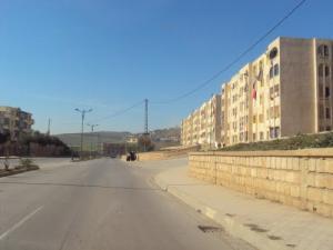 Route Nationale 79 entre Zeghaïa et Oued Endja