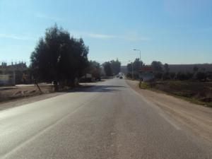 Entrée de la Commune de Oued Endja